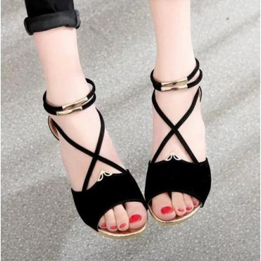 XDA 2019 fashion Women zipper sandals Shoes woman footwear
